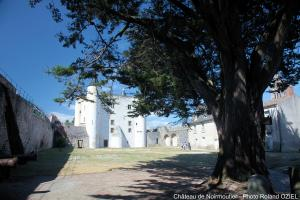 Photo de l'enceinte du chateau de noirmoutier