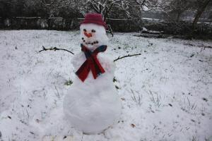 Photo bonhomme de neige
