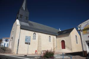 photo eglise de brem sur mer