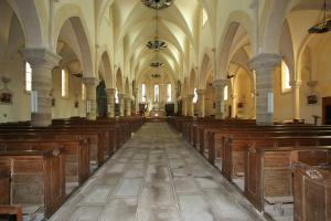 Photo interieur eglise les essarts