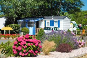 Photo camping saint hilaire de riez mobil-home de sion Vendée