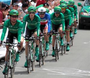 Photo equipe Europcar Tour de France 2011
