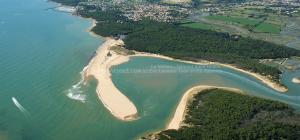 photo aerienne du veillon talmont saint hilaire