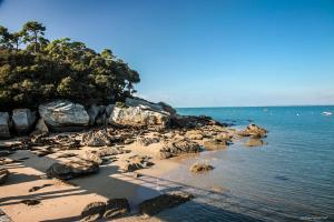 Photo plage des dames de l'estacade rochers