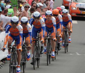 Photo equipe Rabobank Tour de France 2011