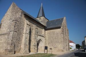 Photo ancienne eglise de sallertaine