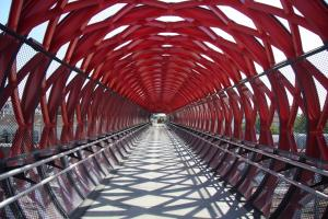 Photo interieur passerelle la gare