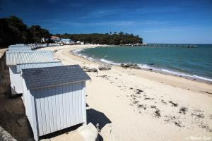 Photo des cabines de plage Noirmoutier