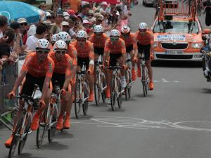 Photo equipe Euskaltel Tour de France 2011