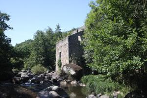 Photo moulin rivière