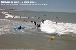 Surfez sur la vague saint jean de monts