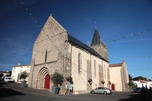 Photo église de longeville sur mer