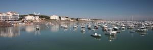 Photo port de plaisance de jard sur mer