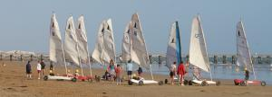 Photo char a voile saint jean de monts vendee