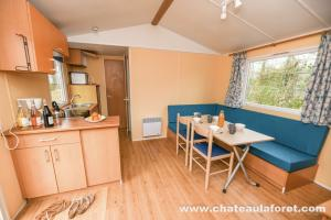 Photo intérieur d'un mobil-home