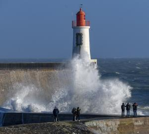 photo tempete les sables d olonne