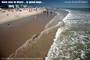 Photo grande plage saint jean de monts
