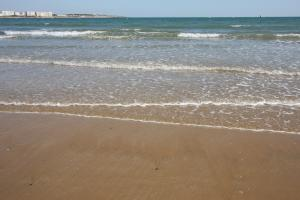 Photo grande plage les sables