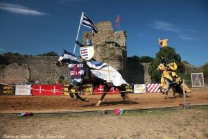 Photo tournoi de chevalier chateau de talmont