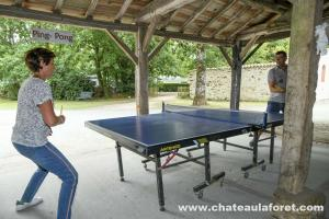 Photo table de ping pong