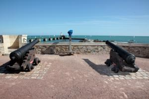 Photo canons fort saint nicolas les sables