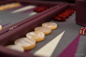 Photo des pions de backgammon
