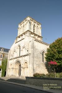 Photo eglise maillezais