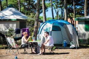 Photo camping saint hilaire de riez emplacement tente en Vendée