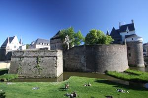 Photo douves du chateau des ducs