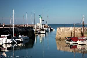 Photo de l'entrée du Port de la Flotte Ile de Ré