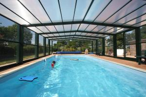 Photo piscine couverte