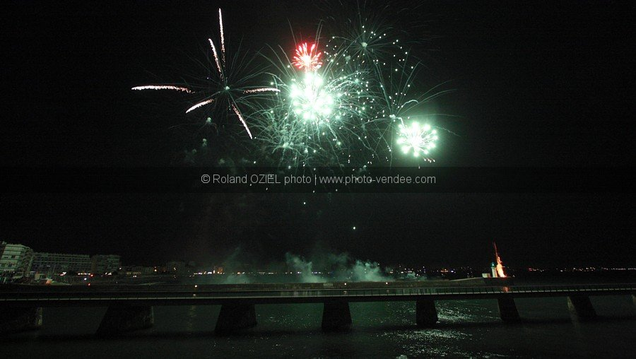 Photo 14 juillet feu d'artifice