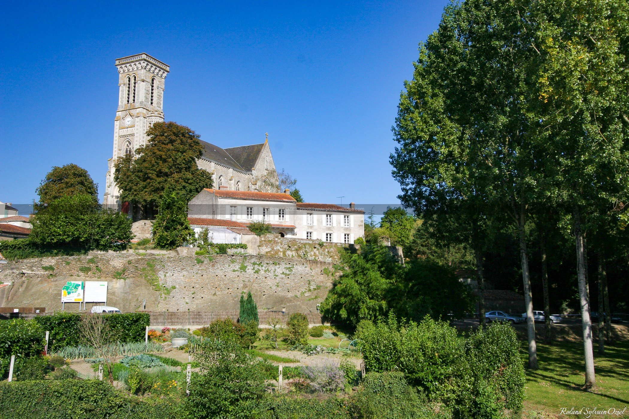 Photo des jardins d'apremont
