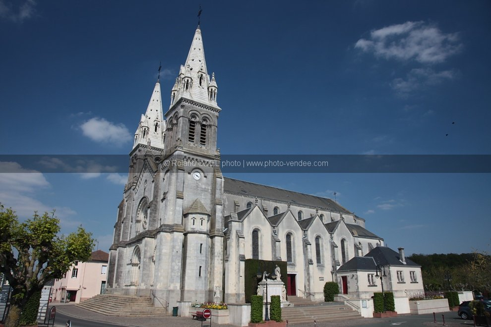 photo eglise des essarts