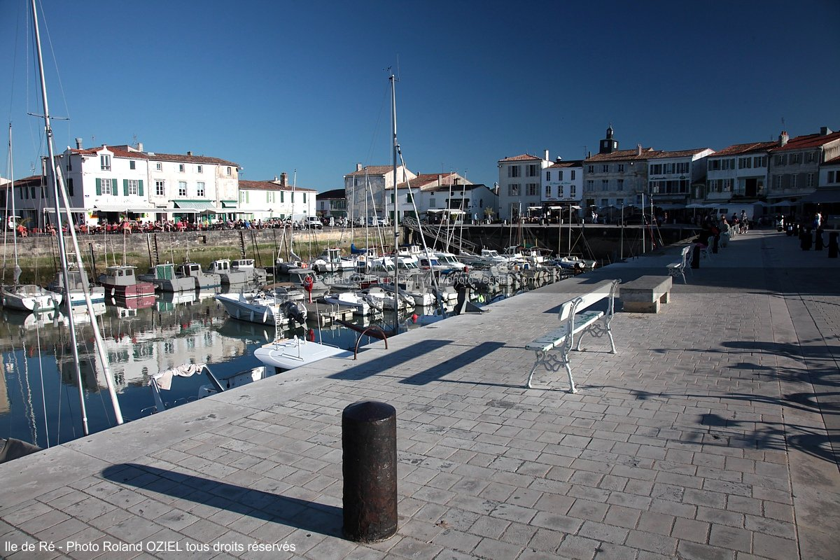 Photo du Port de la Flotte Ile de Ré