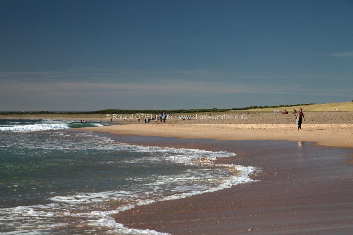 plage longeville sur mer