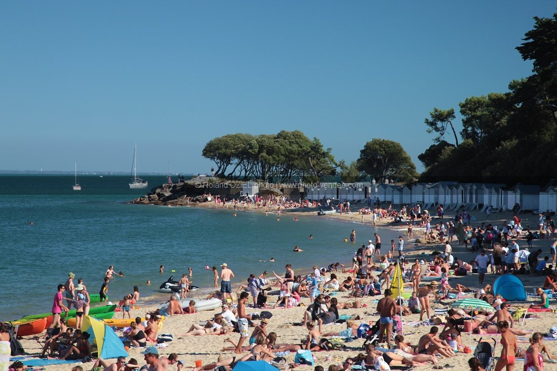 Photo plage Noirmoutier en aout