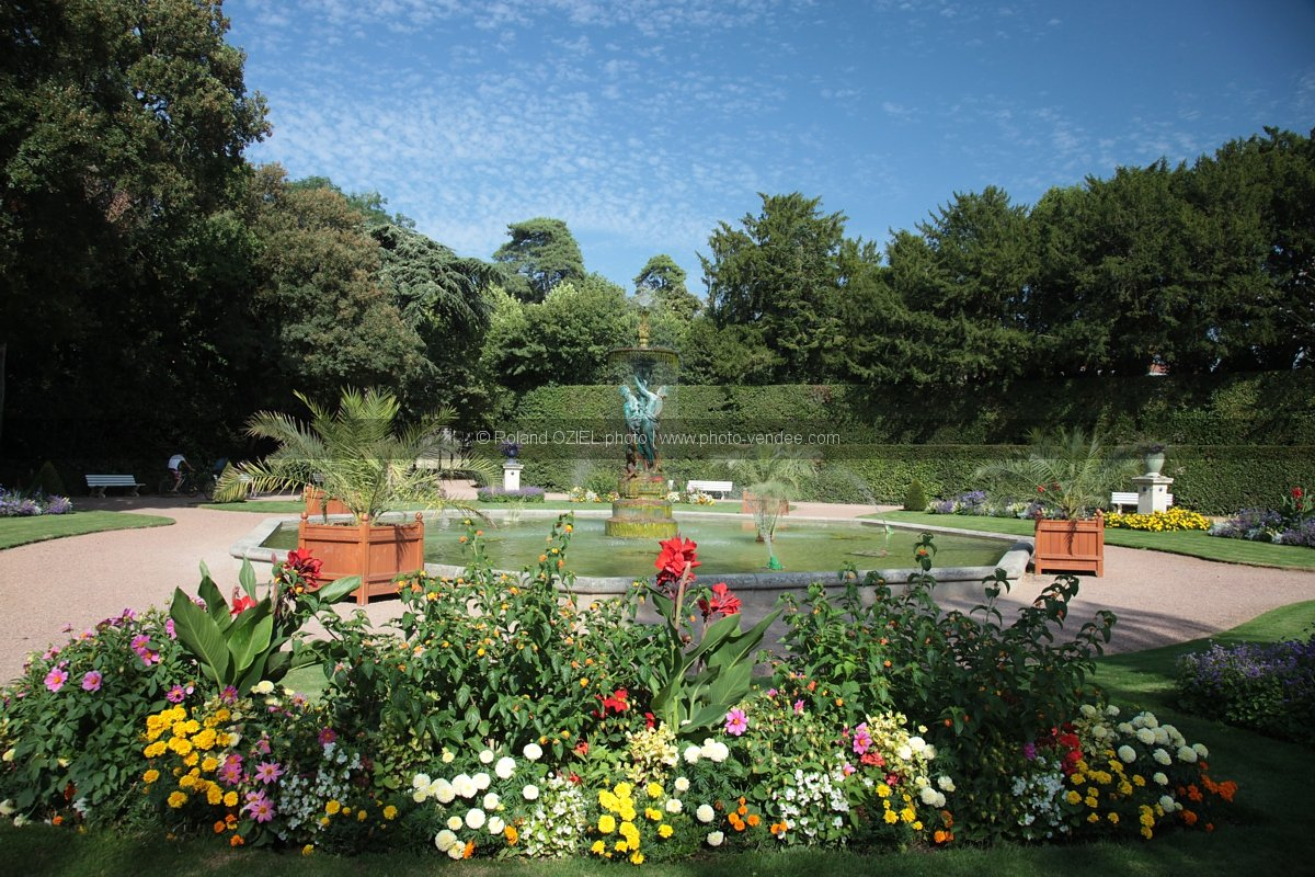 Parc floral du jardin dumaine lucon photo vend e for Jardin floral