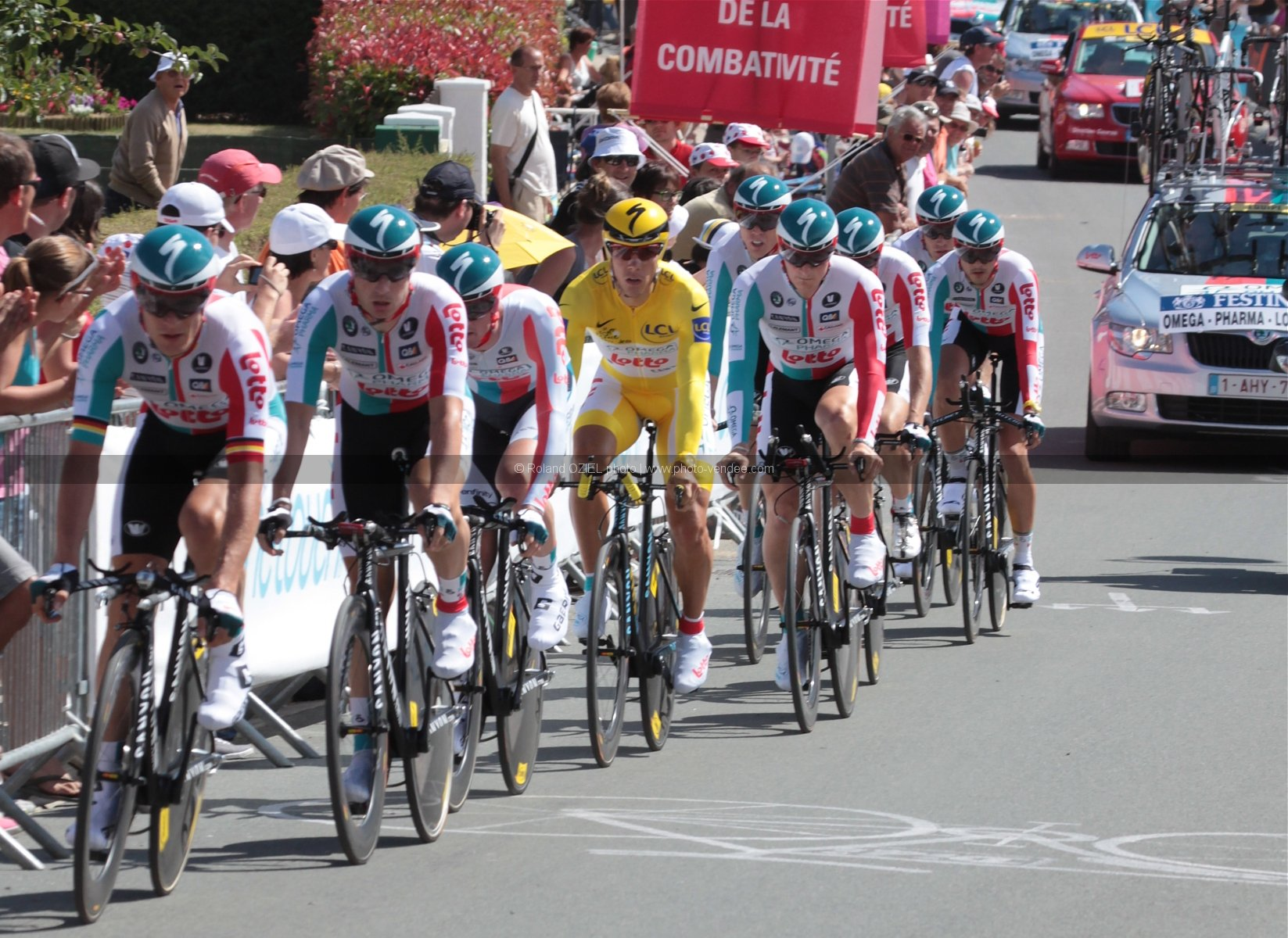 Photo equipe Omega Pharma Tour de France 2011