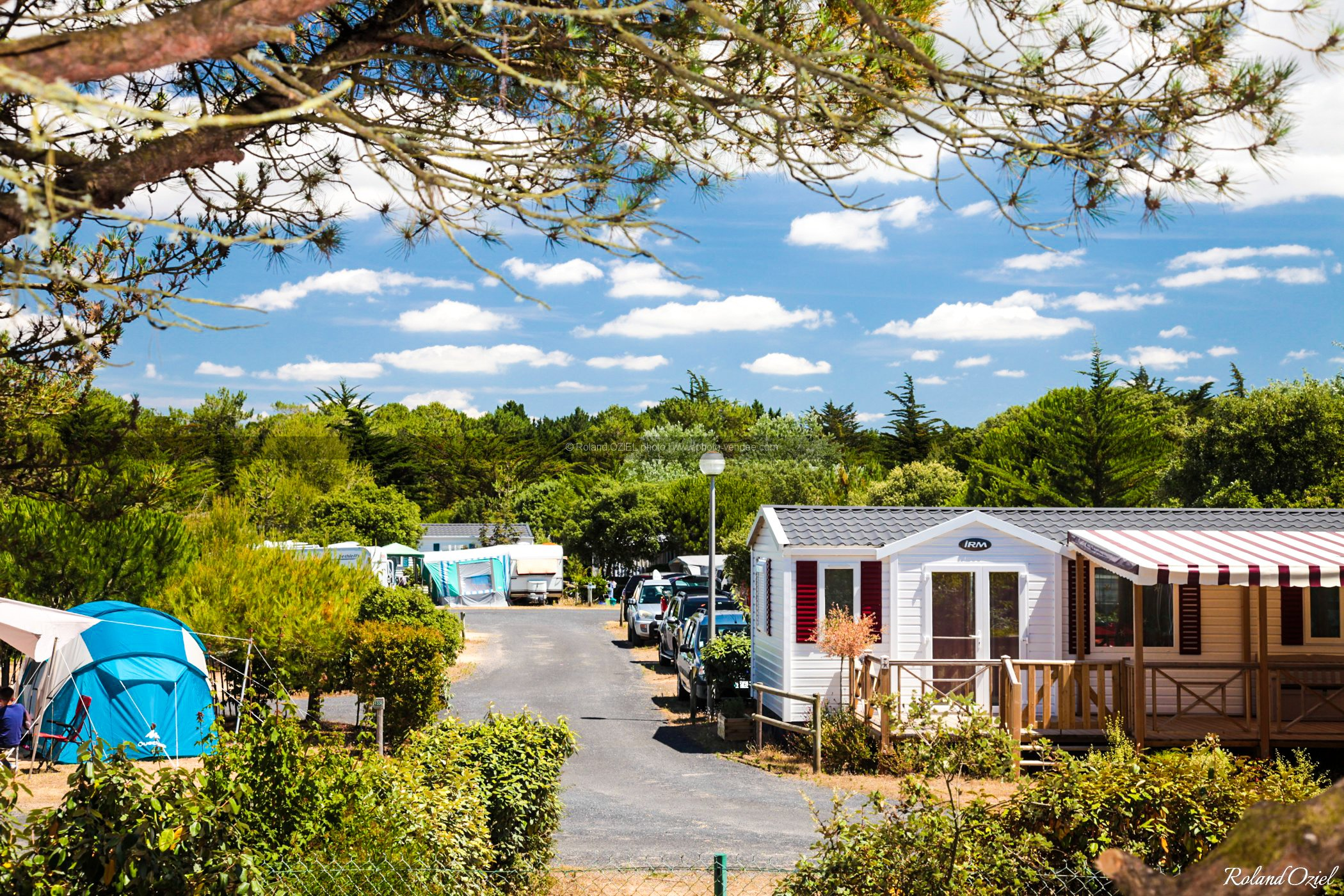 Photo camping saint hilaire de riez mobil-homes de Sion Vendée