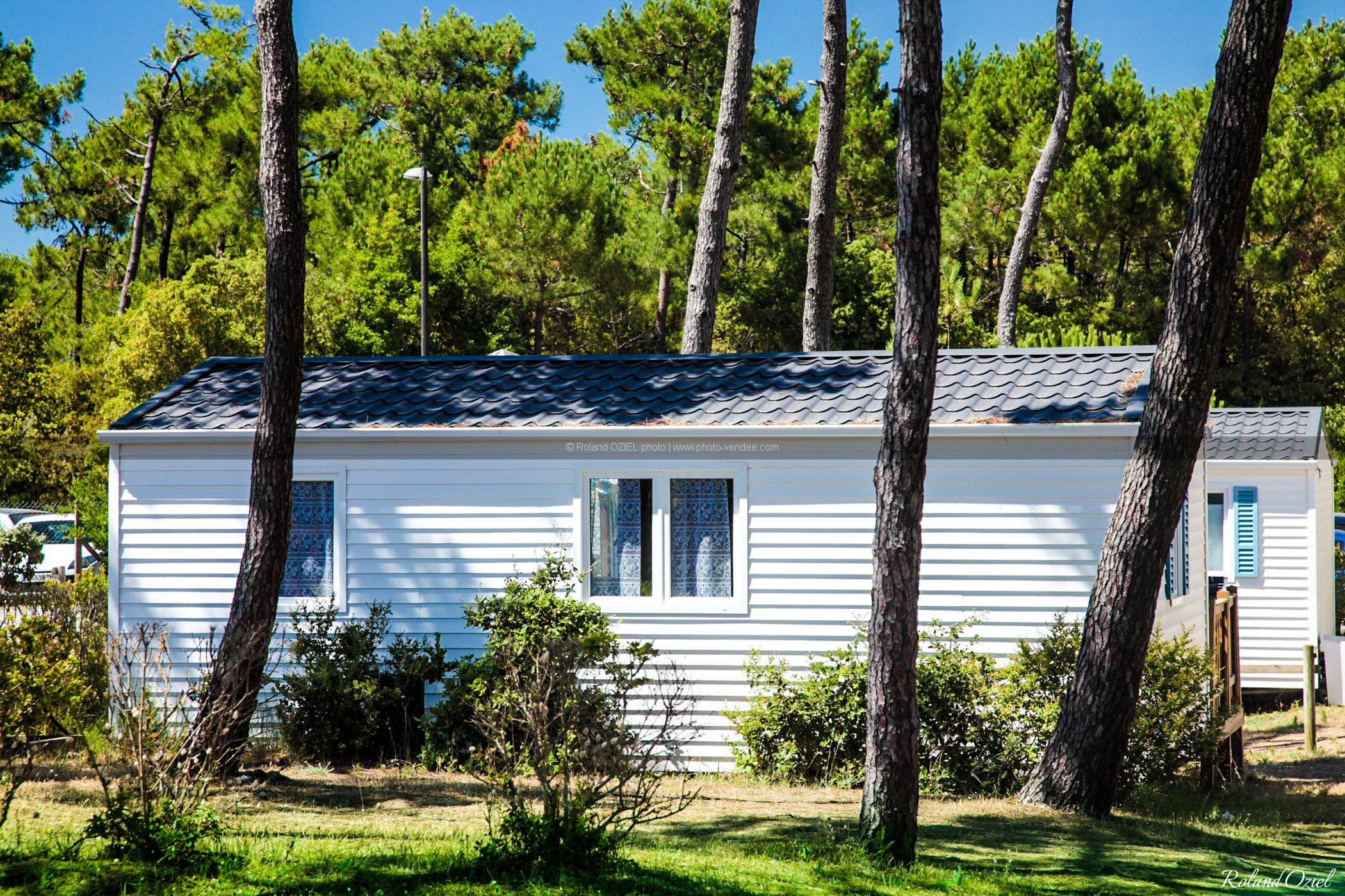 Photo camping saint hilaire de riez mobil-homes la plage de riez Vendée