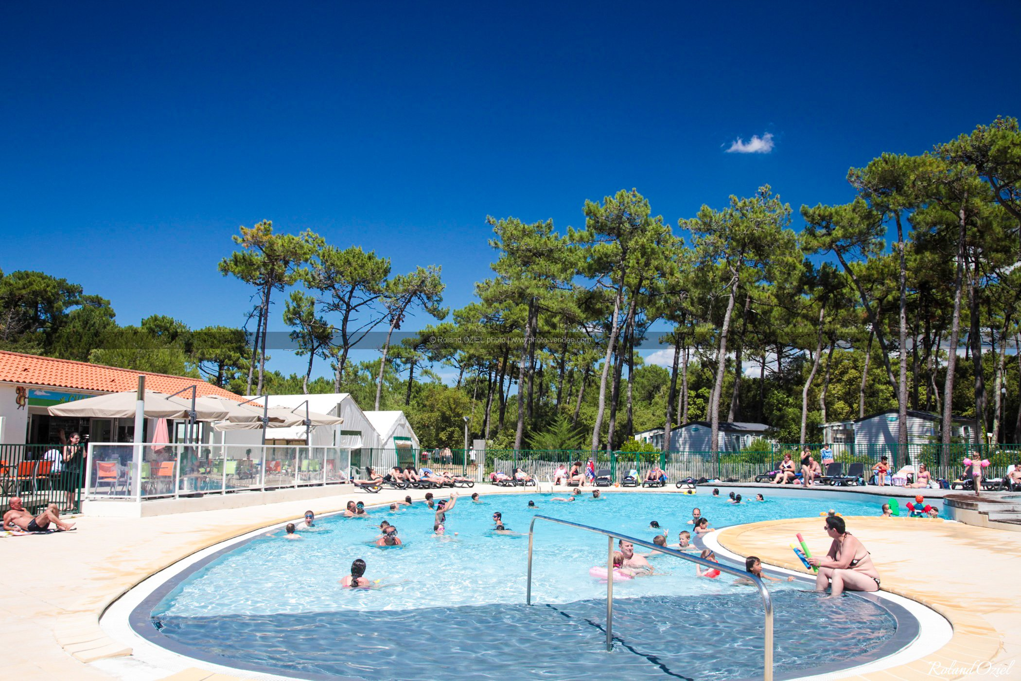 Photo piscine camping saint hilaire de riez la plage de for Piscine saint hilaire de riez