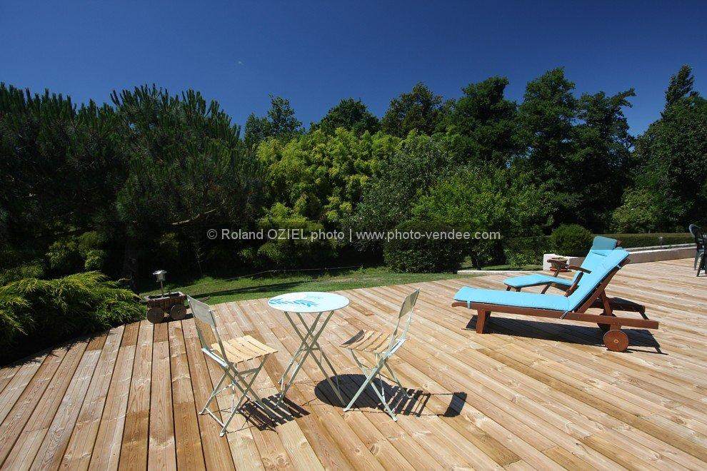 Photo de terrasse de chambre d 39 h tes photo vend e for Chambre d hote vendee