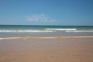 Photo de plage horizon