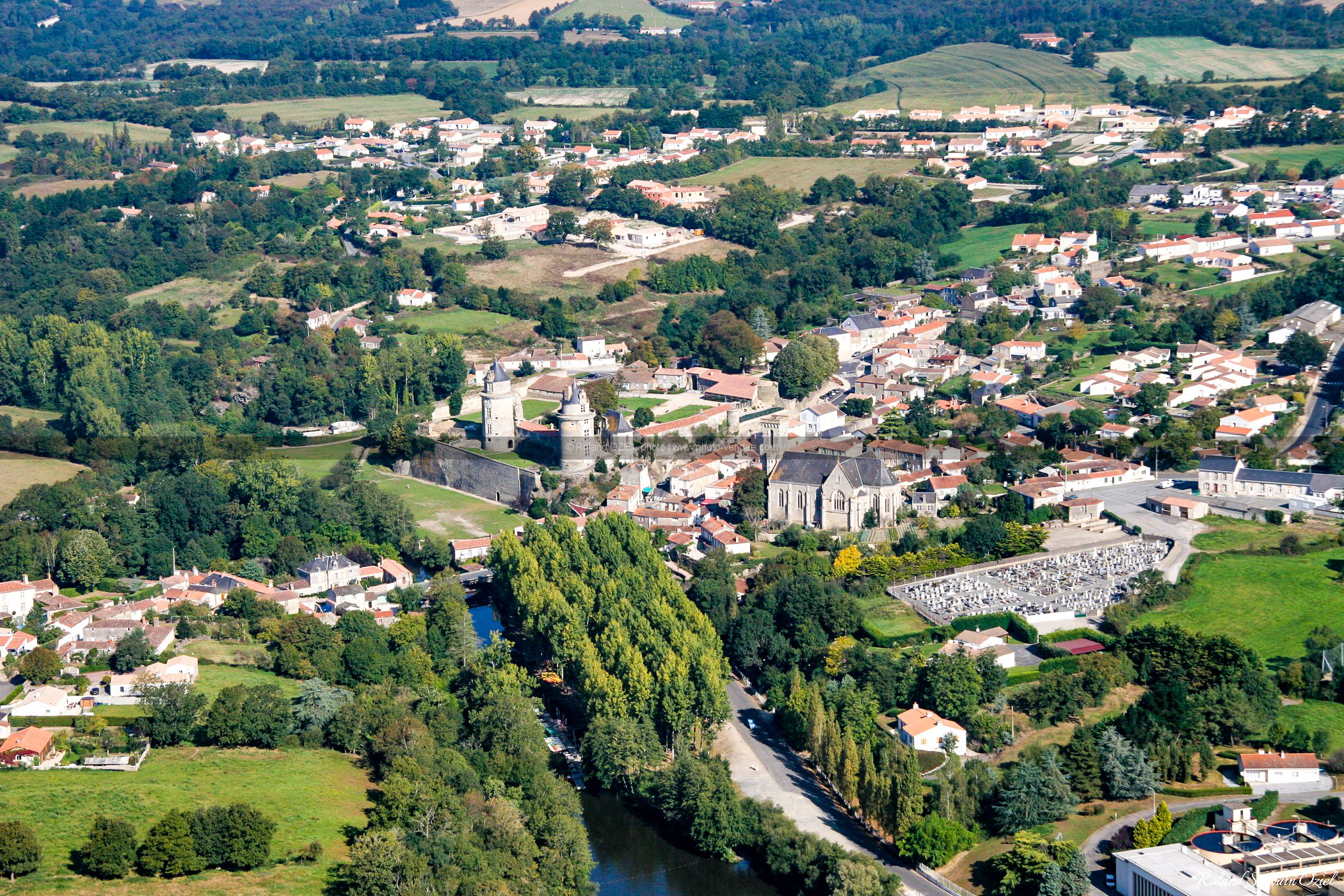 photo aérienne Apremont
