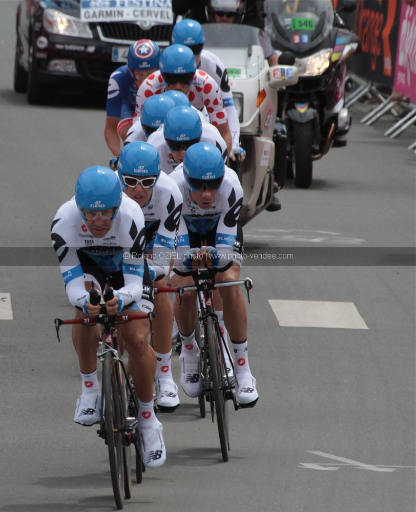 Photo equipe Garmin Tour de France 2011