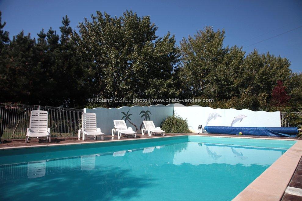 Photo gites avec piscine les sables d 39 olonne photo vend e - Gite pyrenees orientales avec piscine ...
